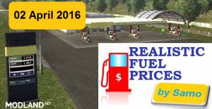 Realistic Fuel Prices (02 April 2016) by Samo