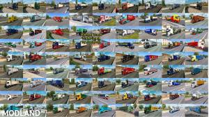 Painted Truck Traffic Pack by Jazzycat v8.7, 2 photo