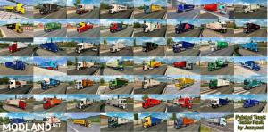 Painted Truck Traffic Pack by Jazzycat v4.8, 4 photo