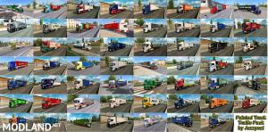 Painted Truck Traffic Pack by Jazzycat v6.2.1, 3 photo