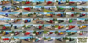Painted Truck Traffic Pack by Jazzycat v6.2.1, 8 photo