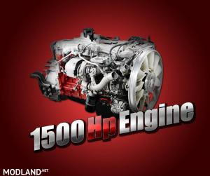 1500 hp 500 kmh Engine for All SCS Trucks 1.36