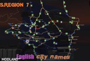 S.Region 7.0 - English city names, 3 photo