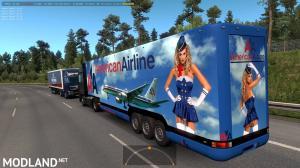 Aerodinamic trailers in traffic v1.36, 3 photo