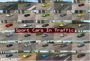 Sport Cars Traffic Pack by TrafficManiac v5.4