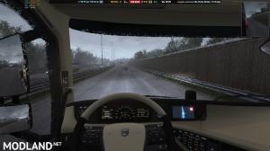 Heavy Rain v2.2 For ETS2 1.34/1.35