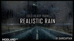 Realistic Rain v 2.6 ETS2 1.34, 1.35, 1 photo