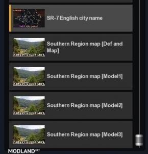 S.Region 7.0 - English city names, 1 photo