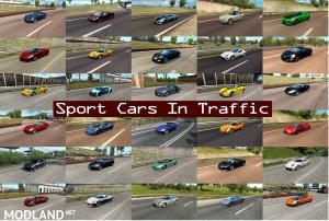 Sport Cars Traffic Pack by TrafficManiac v4.5