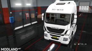 Exterior view reworked for Iveco Hi-Way v 1.0