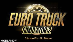 Climate Fix - No Bloom v1.0 (ETS2 1.30)
