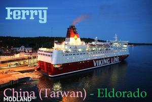 Ferry Taiwan - Eldorado, 1 photo