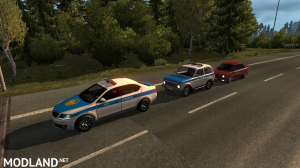 Police cars for maps The Great Steppe and the Road to the Aral 1.35+, 2 photo