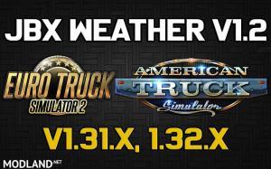 JBX Weather for ATS - ETS2 v1.2, 1 photo