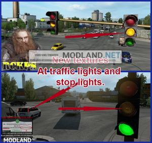 AI Realistic lights V 2.7 for ETS2 1.36.x, 2 photo