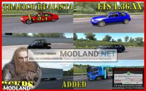 Realistic Traffic v 5.7 For 1.36.x, 2 photo