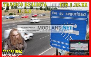Realistic traffic 5.8 by Rockeropasiempre for v 1.36.x, 1 photo