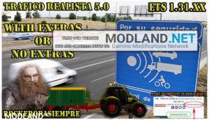 Realistic traffic 5.0 by Rockeropasiempre for V.1.31.XX