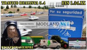 Realistic traffic 5.4 by Rockeropasiempre for v 1.34.x, 1 photo