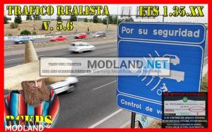Realistic traffic 5.6 by Rockeropasiempre for v 1.35.x