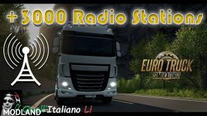 +3000 Radio Stations for Euro Truck Simulator 2, 1 photo