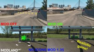 No Icons Mod (Realistic Game) 1.35.x & DX11 Ready, 1 photo