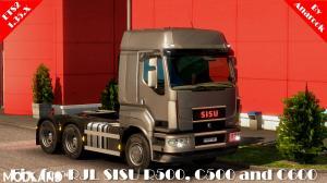 FIX FOR RJL SISU R500 C500 C600 ETS2 1.35.X, 1 photo