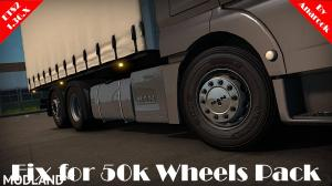 FIX FOR 50K WHEELS PACK ETS2 1.36.X, 1 photo
