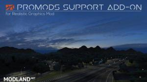 ProMods Support Add-on v 2.1 for Realistic Graphics Mod, 1 photo