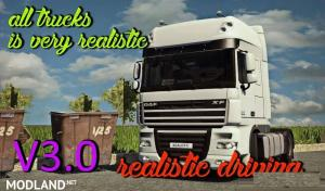 Realistic Driving and Physics for all Trucks v 3.0, 1 photo