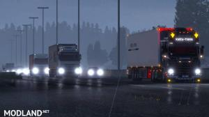 ETS2 Realistic Lights By Alexandermc