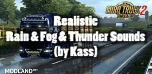 Realistic Rain & Fog & Thunder Sounds v 1.2