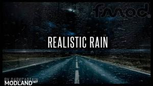 Realistic Rain v 3.5.1 ETS2 1.37