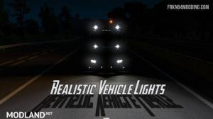 Realistic Vehicle Lights Mod v 4.2, 1 photo