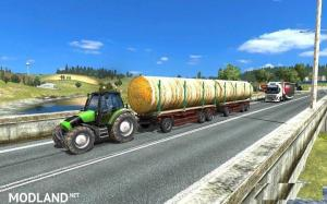 Tractor with Trailers in Traffic v 3.1