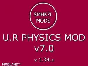 U.R Physics Mod v 7.0 – SMHKZL Mods