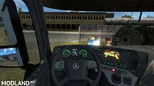 Mercedes Actros MP4 Colored Dashboard, 3 photo