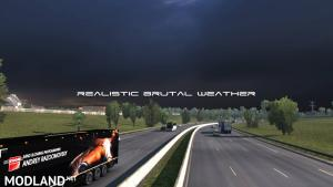 Realistic Brutal Weather V5.4 ETS2 1.38