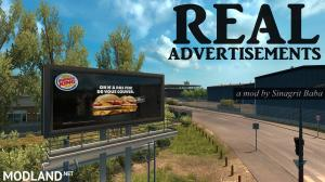 ETS 2 - Real Advertisements