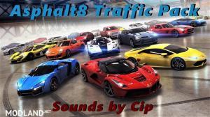 Asphalt8 traffic pack 1.35 edit by Cip
