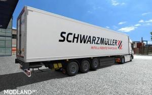 Liftable axle for default trailers, 1 photo