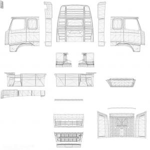 Template for Volvo FH&FH16 2009, 1 photo