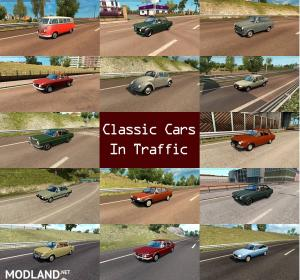 Classic Cars Traffic Pack by TrafficManiac v 1.3