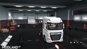 Exterior view reworked for DAF XF Euro 6 v 1.3