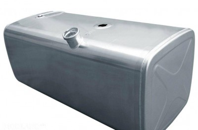 Double fuel tanks for scs Scania trucks, 1 photo