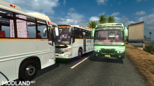 Tamilnadu(TNSTC) and Kerala(KSRTC)Bus traffic pack v 1.0, 2 photo