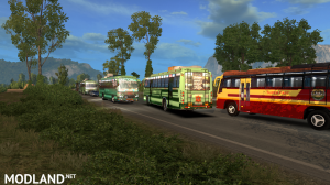 Tamilnadu(TNSTC) and Kerala(KSRTC)Bus traffic pack v 1.0, 1 photo