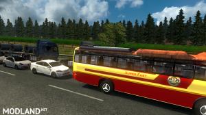 Kerala KSRTC Super Fast bus Traffic Mod, 4 photo