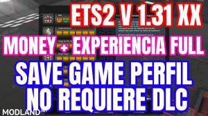 Save Game Perfil No requiere DLC ETS2 v 1.31