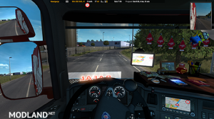 GPS RG ETS2 PRO 1.01 UPDATED 1.35.x, 2 photo